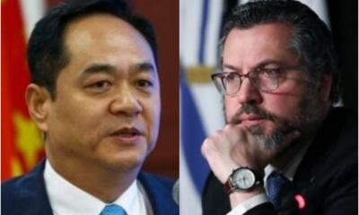 Ex-ministro manda indireta a embaixador da China que questionou a natureza de Deus