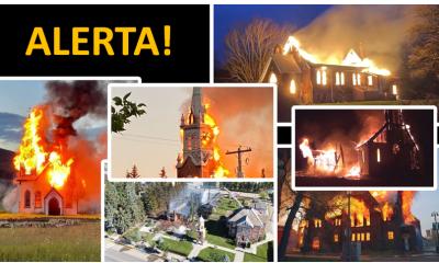 Canadá: extremistas são acusados de queimar 45 igrejas em aparente reação anticristã
