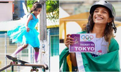 """""""Obrigado Deus, obrigada família"""", diz Rayssa Leal, campeã olímpica aos 13 anos"""